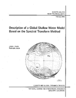 Description of a Global Shallow Water Model Based on the Spectral Transform Method