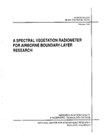 A Spectral Vegetation Radiometer for Airborne Boundary-layer Research