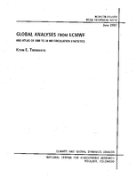 Global Analyses From ECMWF and Atlas of 1000 to 10 Mb Circulation Statistics