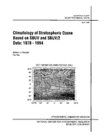 Climatology of Stratospheric Ozone Based on SBUV and SBUV/2 Data: 1978 - 1994