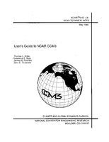 User's Guide to NCAR CCM3