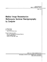 Medical Image Reconstruction: Multiangular Sectional Roentgenography by Computer