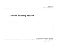 Scientific Ballooning Handbook