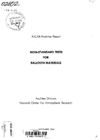 Non-Standard Tests for Balloon Materials