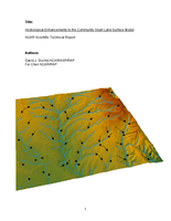 Hydrological Enhancements to the Community Noah Land Surface Model