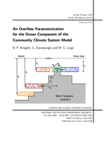 An Overflow parameterization for the ocean component of the Community Climate System Model