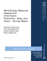 Wind Energy Resource Assessment : Information Production, Uses, and Value - Survey Report