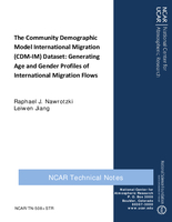 Community Demographic Model International Migration (CDM-IM) Dataset : Generating Age and Gender Profiles of International Migration Flows