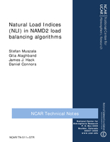 Natural Load Indices (NLI) in NAMD2 load balancing algorithms