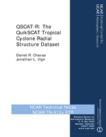 QSCAT-R: The QuikSCAT Tropical Cyclone Radial Structure Dataset