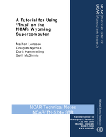 A Tutorial for Using 'Rmpi' on the NCAR/Wyoming Supercomputer