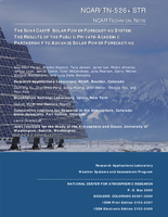 The Sun4Cast® Solar Power Forecasting System: The Result of the Public-Private-Academic Partnership to Advance Solar Power Forecasting