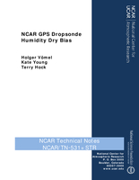NCAR GPS Dropsonde Humidity Dry Bias