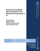 Accelerating CMIP data analysis with parallel computing in R