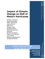 Impact of Climate Change on Gulf of Mexico Hurricanes
