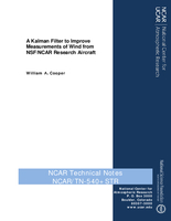 A Kalman Filter to Improve Measurements of Wind from NSF/NCAR Research Aircraft