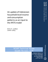 An update of Indonesian household-level income and consumption patterns as an input to the iPETS model