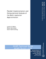 Parallel implementation and computational analysis of the multi-resolution approximation