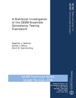 A Statistical Investigation of the CESM Ensemble Consistency Testing Framework