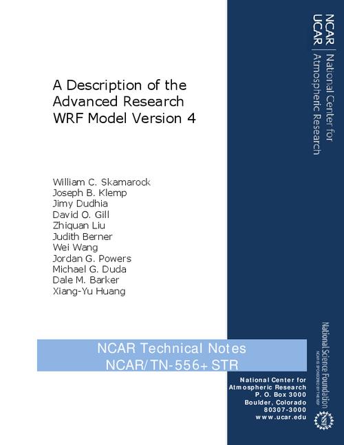 A Description of the Advanced Research WRF Model Version 4