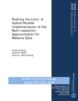 Pushing the Limit: A Hybrid Parallel Implementation of the Multi-resolution Approximation for Massive Data