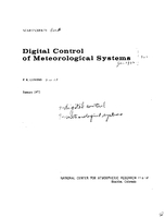 Digital Control of Meteorological Systems