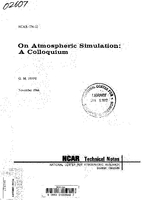 On Atmospheric Simulation: A Colloquium