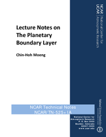 Lecture Notes on The Planetary Boundary Layer
