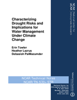 Characterizing drought risks and implications for water management under climate change