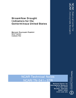 Streamflow Drought Indicators for the Conterminous United States