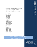 Hurricane Weather Research and Forecasting (HWRF) Model: 2017 Scientific Documentation