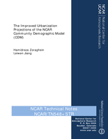 The Improved Urbanization Projections of the NCAR Community Demographic Model (CDM)