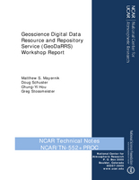 Geoscience Digital Data Resource and Repository Service (GeoDaRRS) Workshop Report