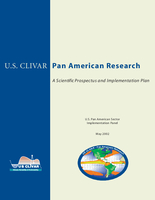 U.S. CLIVAR Pan-American Implementation Plan
