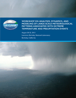 Workshop on Analyses, Dynamics, and Modeling of Large-scale Meteorological Patterns Associated with Extreme Temperature and Precipitation Events