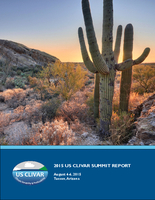 2015 U.S. CLIVAR Summit Report