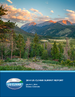 2014 U.S. CLIVAR Summit Report
