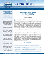 Understanding the response of Greenland's marine terminating glaciers to oceanic atmospheric forcing